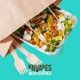 ¿Ensalada de pollo 🥗 o pollo con ensalada? 🤔 Da igual el orden o el pedido, 𝘁𝗼𝗱𝗼 𝗲𝘀 𝗽𝗼𝘀𝗶𝗯𝗹𝗲. Disfruta nuestros envases de aluminio y bolsas de papel bio personalizables para preparar tus pedidos take away y delivery 🛍. Nueva Tienda online 👉 envasesdelmediterraneo.com 👈. Envíos 24-48h.  #envasesbiodegradables #envasesbio #envasesdelmediterraneo #takeaway #envasesdealuminio #todoesposible #bolsasdepapelbio