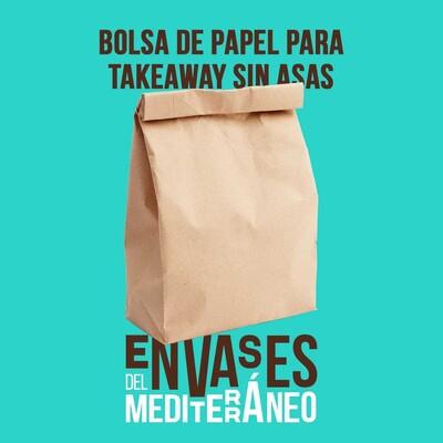 Para llevar y que no te pese. En la mano o en la conciencia.  De papel bio, estas bolsas sin asas americanas, son fáciles y cómodas para transportar productos pequeños no pesados, en la mano o en el bolso✌️.  Para tiendas de alimentación, farmacias, fruterías, panaderías, mercados, locales take away y delivery 🍎🥖🥐.  Personalízalas y elimina el plástico. Contáctanos 📞 679 485 247 o 📩 info@envasesdelmediterraneo.com.  #envasesdelmediterraneo #takeaway #delivery #bolsasbiodegradables #bolsasbio #takeawayfoodpackaging